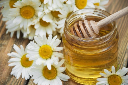 Flower honey from Greece