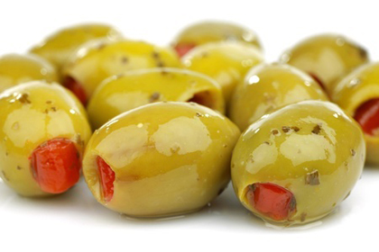Green Olives from Greece